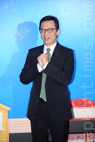 香港電視主席王維基。(宋祥龍/大紀元)