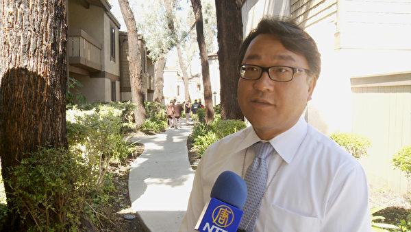 国税局刑事调查科官员Andrew Lee。(郑浩/大纪元)