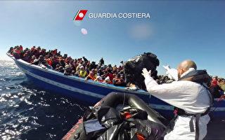 義國外海船難頻傳 1天救近千人