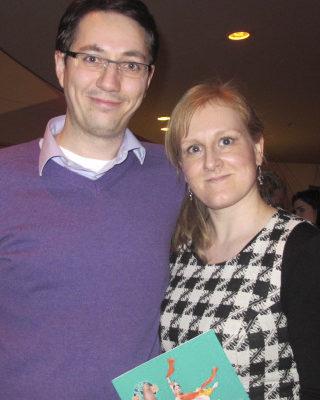 Fabian Frost先生是荷兰航天科技集团公司(SSBV)的软件专家,他和太太Maria Frost都是第一次观看神韵演出,就被折服了。(麦蕾/大纪元)
