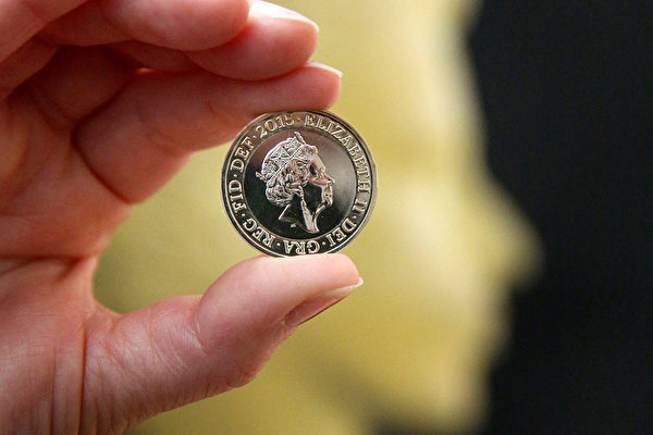 組圖:英女王硬幣肖像第5度換新妝