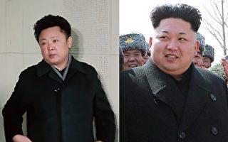 朝鮮中央電視臺最近公佈金正日年輕時的錄像(圖左),其容貌很像今日的金正恩(圖右)。(大紀元合成圖)
