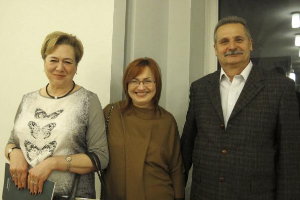 2015年3月7日晚,Marek Opala和Elżbieta Opala夫妇是波兰一家纺织公司的老板,专营绗缝和装饰面料。这是他们和朋友首次观看神韵演出,他们均表示他们被演出的精神内涵深深地感动。(麦蕾/大纪元)