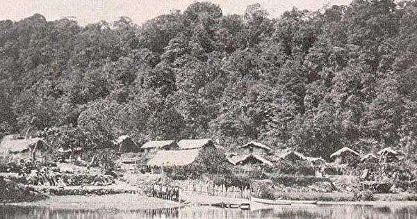 日月潭湖岸的邵族部落。(圖片提供:tony)