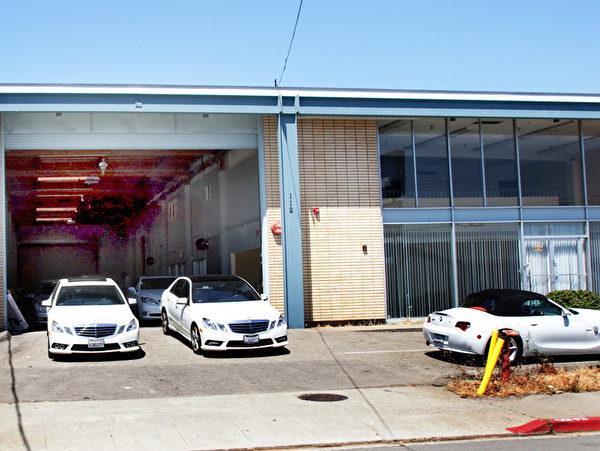JP車身修理廠外觀。(JP提供)