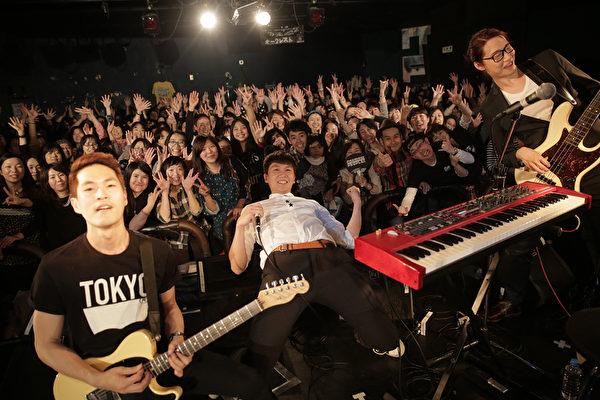 宇宙人日本巡回东京场。(相信音乐提供)