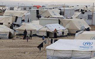 敘利亞內戰至今,有480萬人物資奇缺,幾乎是2013年的兩倍。圖為聯合國設置難民營。(AFP)