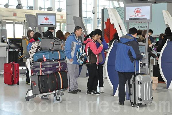 防中共肺炎 加拿大三機場將進行篩查