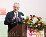 针对美国NGO团体吁台国会组跨党派联盟,关注中国宗教自由情况,副总统吴敦义表示支持。(陈柏州 /大纪元)