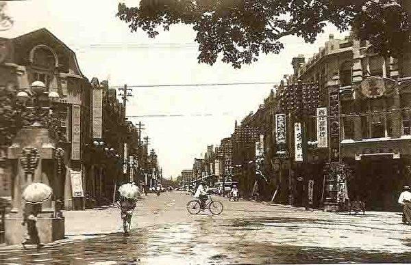 台北市榮町通(今衡陽路)。 (圖片提供:tony)