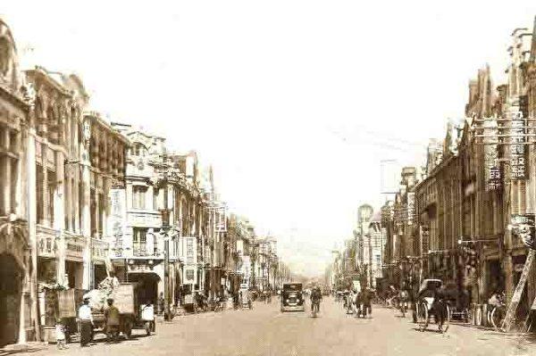 台北市本町通(今重慶南路)。 (圖片提供:tony)