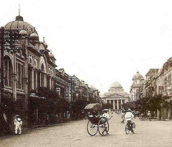 台北市表町通(今館前路)。 (圖片提供:tony)