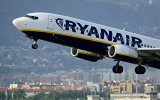 """爱尔兰瑞安成为全球""""最受欢迎航班"""""""