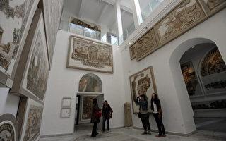 巴杜博物馆收藏的罗马马赛克画在全世界数一数二。 (AFP/GettyImages)