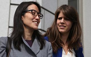 3月21号,法官裁定,鲍康如(左)可以要求损害赔偿。该案最终判决将由陪审团裁决。(Justin Sullivan/Getty Images)