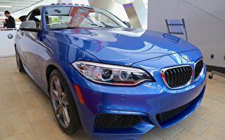 2015最佳跑车-性能型 (低于5万) BMW M235i(任乔生/大纪元)
