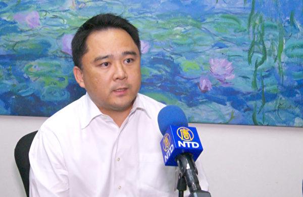 前洛杉矶县检察官、刑事律师张耀元认为,华人要多参与社区事务,发出自己的声音。(杨阳/大纪元)