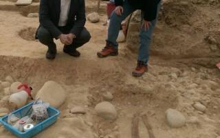 建地出土4000年人骨    中市抢救安和遗址