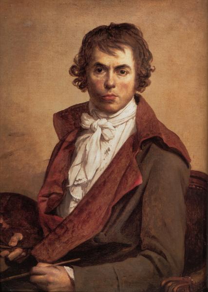 大卫自画像,卢浮宫藏。(维基百科公共领域)