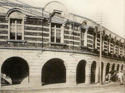 《台湾日日新报》总部,位于荣町(衡阳路)(今中山堂旁力霸百货原址)(图片提供:tony)