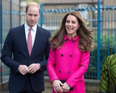 3月27日,英國威廉王子和妻子凱特王妃訪問了倫敦的一家社區學習中心。 (Photo by Alastair Grant - WPA Pool/Getty Images)