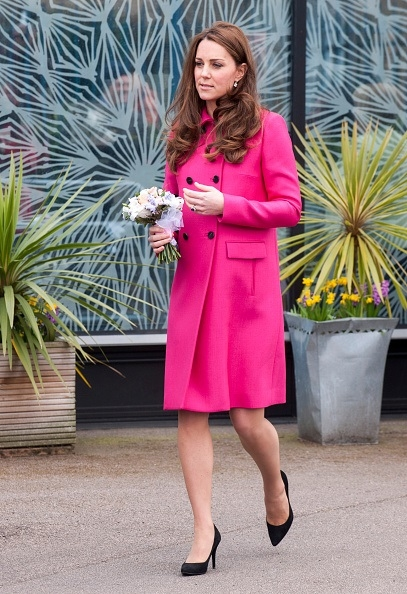 3月27日,產前最后一次参加公開活動的英國凱特王妃。(David Parker - WPA Pool/Getty Images)