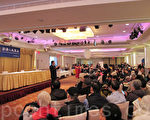 """大纪元新唐人""""华人健康展""""在法拉盛举行,吸引上千民众参加。(林丹/大纪元)"""