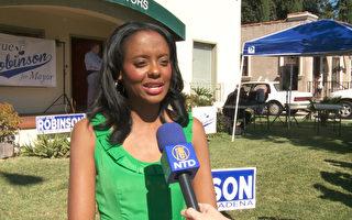 帕市長競選激烈 羅賓遜獲華裔支持