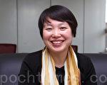 來自中國朝鮮族的首爾市名譽副市長李海鷹。(全宇/大紀元)