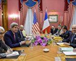 3月31日,6国与伊朗在瑞士洛桑持续进行核谈判。(AFP)