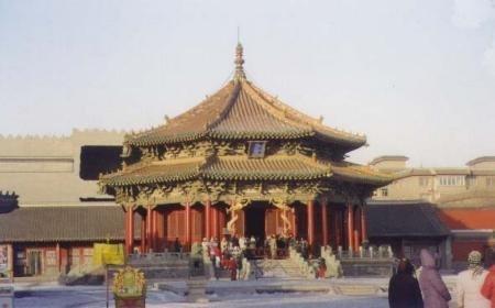 沈阳故宫,建于1636年,为清太祖努尔哈赤和太宗皇太极所拥有。( 大纪元)