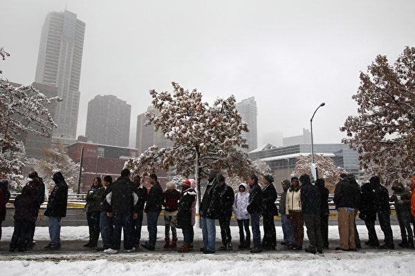 科罗拉多大学丹佛分校(University of Colorado at Denver)。(John Moore/Getty Images)