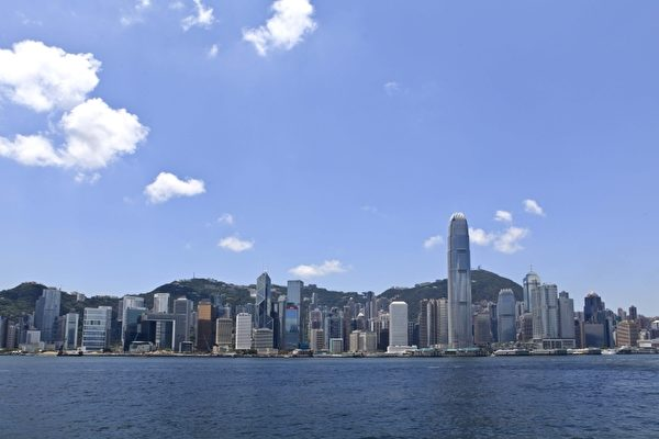 香港维多利亚港。(余钢/大纪元)