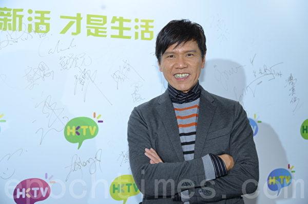 林嘉华在港视拍剧过足戏瘾。(宋祥龙/大纪元)