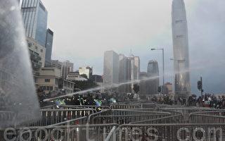 泛民批警购水炮车伤害市民