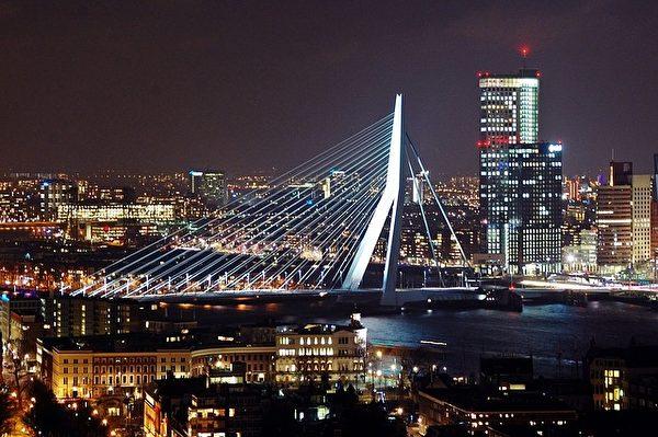 荷蘭鹿特丹是歐洲最大的港口、遠洋貨物進出歐洲的大門。(pixabay)