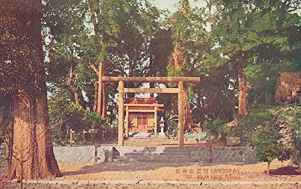 阿里山神社。 (圖片提供:tony)