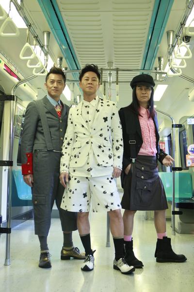 草蜢代言台北街舞大賽,變身型男拍攝宣傳短片。(公關提供)