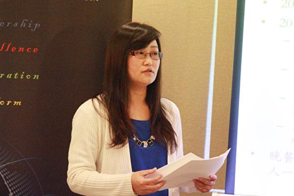 2015年科技研讨会主席:苏慧(Dr.HuiSu)。(张岳/大纪元)