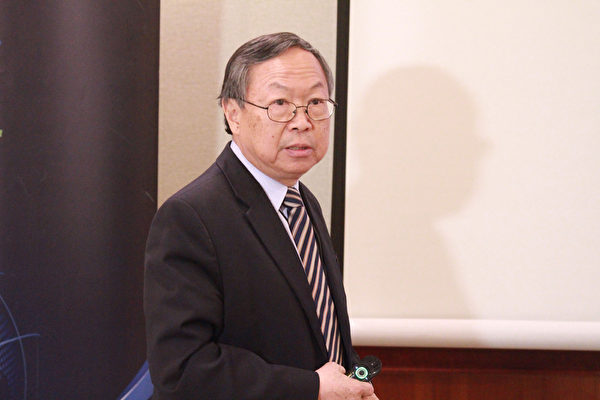 南加州中华科工学会(CESASC)现任会长刘登凯博士 (Dr. Dankai Liu)。(张岳/大纪元)