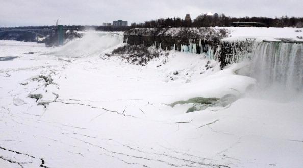加拿大尼亚加拉大瀑布冬天(Guy Solimano/Getty Images)
