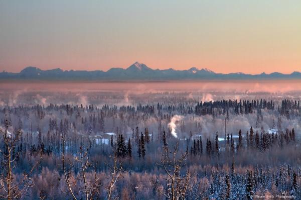 美國阿拉斯加冬天(Steve Betts/ Flickr)