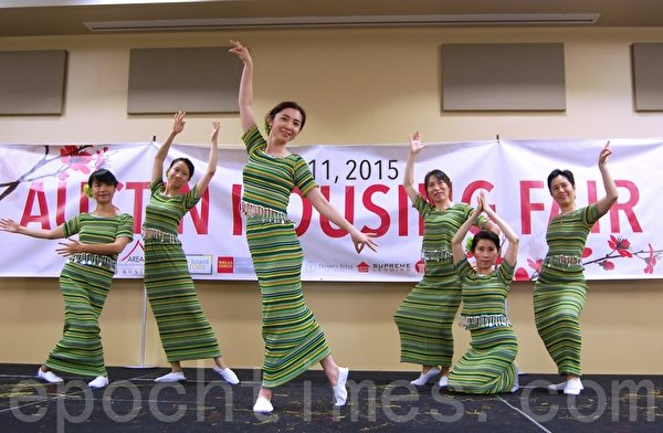 傣族舞。(圖:安吉/大紀元)
