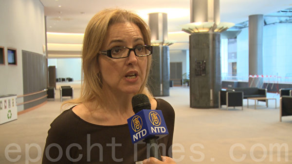 器官移植伊斯坦堡宣言共同主席Beatriz Dominguez女士希望,中共政府宣布的停止从死刑犯身上获得器的官声明能够实施。(李孜/大纪元)