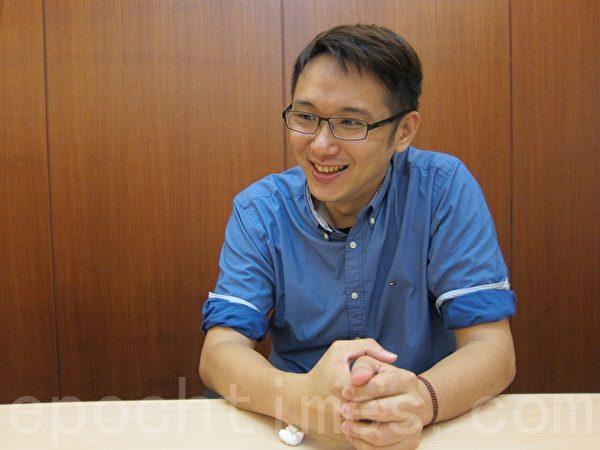 郭俊鵬說:「隆美和台灣都是我的家!」他會用永續的心經營。((孫幗英/大紀元)