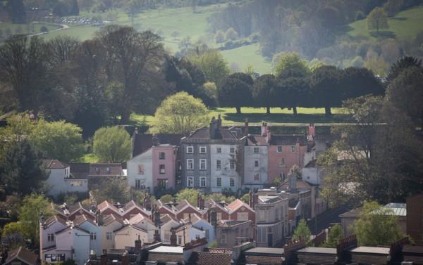 2015年4月22日,从英国布兰登公园眺望布兰登。(Matt Cardy/Getty Images)