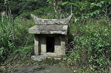 南势坑福德庙。(图片提供:tony)