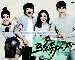最新韩剧《制作人》最新海报,该剧主演(左起)为IU、车太炫、孔孝真及金秀贤。(KBS 2TV提供)