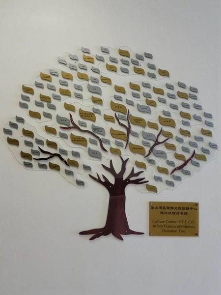 旧金山湾区侨胞赠新文教中心设备