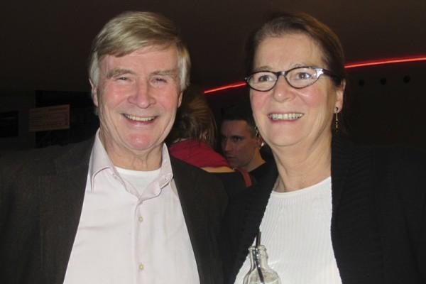 2015年3月3日,Annemarie Penn女士和先生Olaf Penn在荷兰海牙的路圣特舞蹈剧院观看神韵演出,Annemarie Penn女士担任荷兰司法部最高的四名负责人之一,荷兰最高检察委员会委员兼国家检察官。(麦蕾/大纪元)